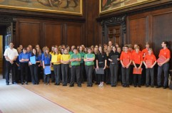 Performing in London's Hampton Court Palace as part of the Cultural Olympiad