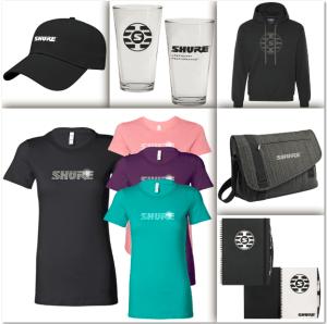 Shure online store