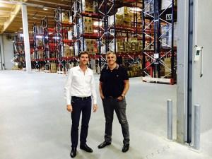 Benjamin Garnier y Manuel Punti