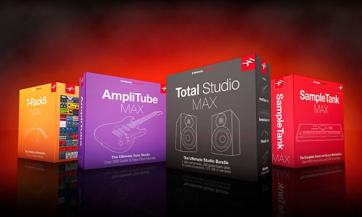 Total Studio MAX junto a tres de los paquetes que incluye