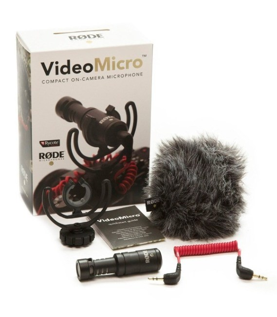 Rode-VideoMicro-Compact-On-font-b-Camera-b-font-Recording-font-b-Microphone-b-font-for