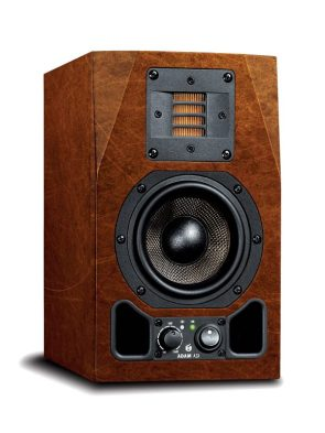 adam audio ax studio monitor mock up copper