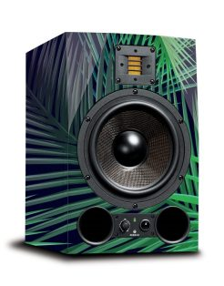 adam audio ax studio monitor mock up leafage