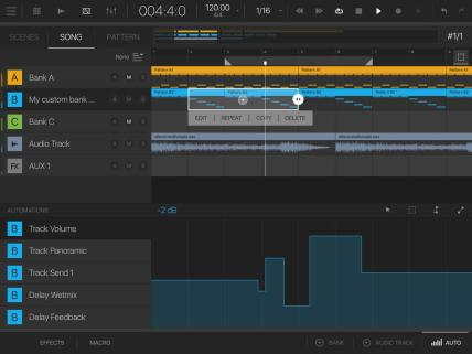 intua bm R Sequencer SongAutomation