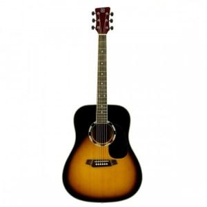 Guitarra acustica Oqan QGA-31 SB