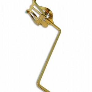 Atril saxofón largo dorado