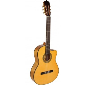 José Gómez c320590 Guitarra flamenca cutaway tapa maciza