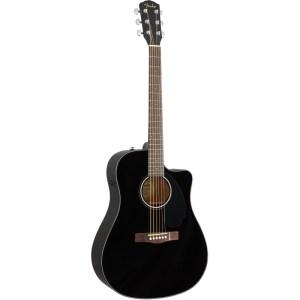 Guitarra acústica fender cd 60sce black