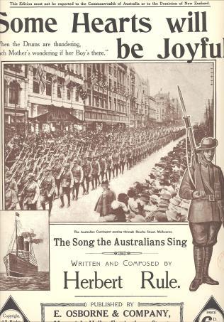 The Australians go to war. A1914.511