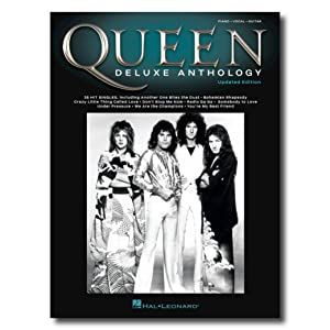 Queen Deluxe Anthology Piano/Vocal/Guitar Songbook