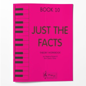 Piano Theory Worksheets Piano Theory Workbook Just The Facts Book 10