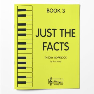 Piano Theory Worksheets Piano Theory Workbook Just The Facts Book 3