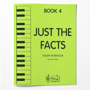 Piano Theory Worksheets Piano Theory Workbook Just The Facts Book 4