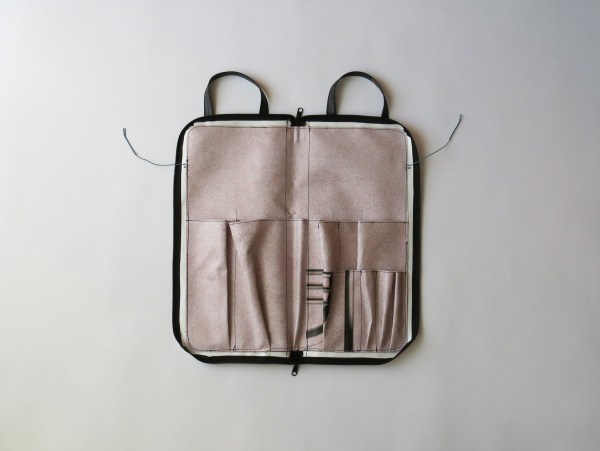 Eco handmade drumsticks bag 14:23 inside