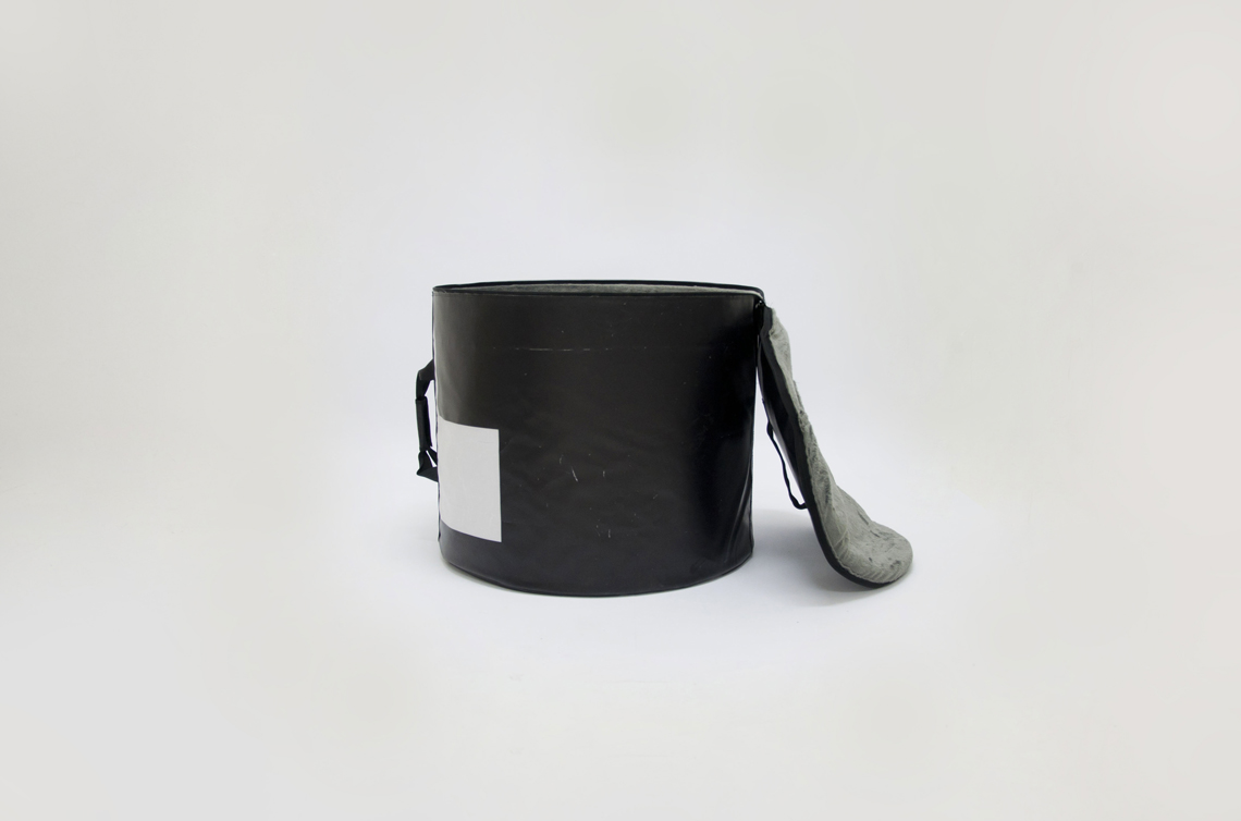 bass drum bag from handcrafted drum set bag by music bags.crea-re.com d