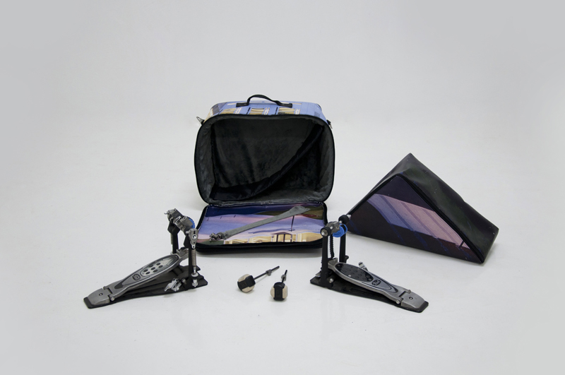 Double bass drum pedal bag musicbags.crea-re.com