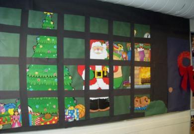 Classroom Window Ideas