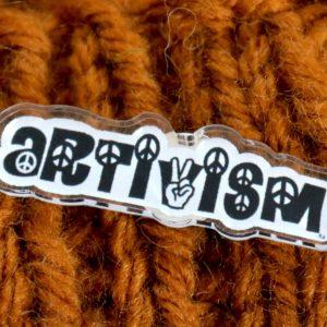 Artivism Pin