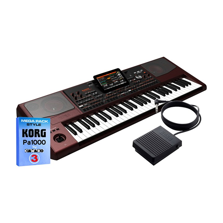 KORG Pa1000 + style + PS3