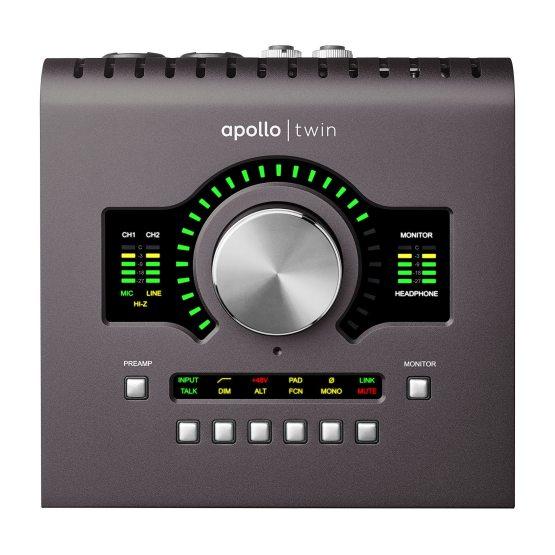 Universal Audio Apollo Twin Mk II SOLO - zestaw wtyczek o wartości 1300 zł gratis!