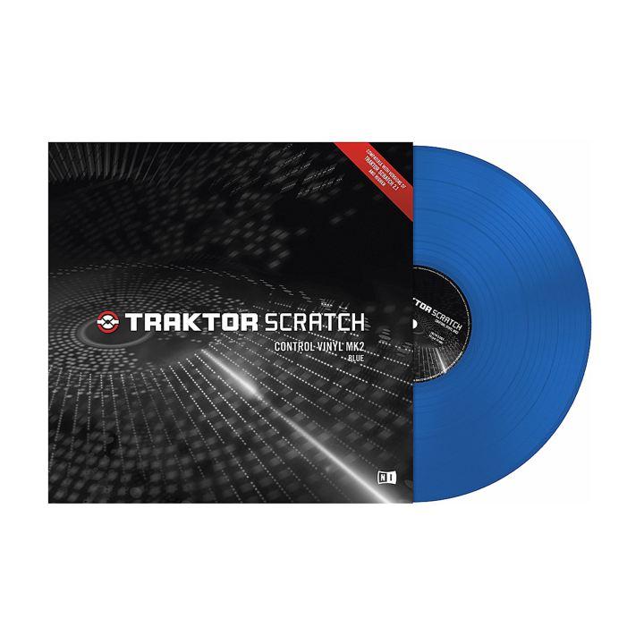 Native Instruments Traktor Scratch Pro Vinyl Blue 1