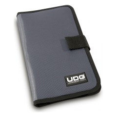 UDG Ultimate CD Wallet 24 Steel Grey, Orange inside