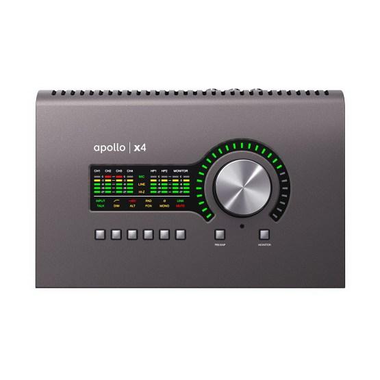 Universal Audio Apollo x4 top