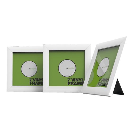 glorious vinyl frame set 7 white