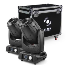 Flash Professional 2x 3R Moving Head 3in1