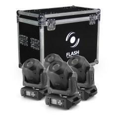 Flash Professional 4x LED Moving Head 90W Diamond