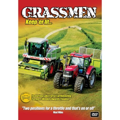 Grassmen Keep 'Er Lit DVD
