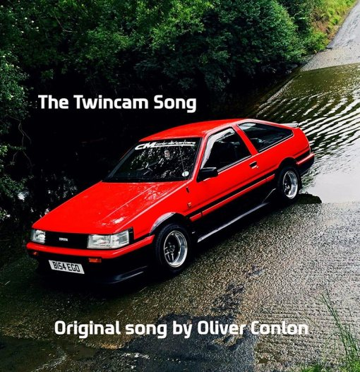 The Twincam Song Original song by Oliver Conlon CD