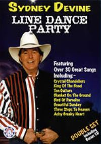 Line Dance Party DVD & Bonus CD Sydney Devine