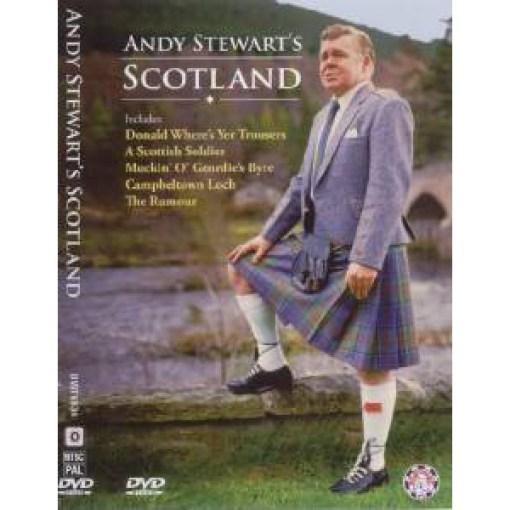 Andy Stewart's Scotland DVD