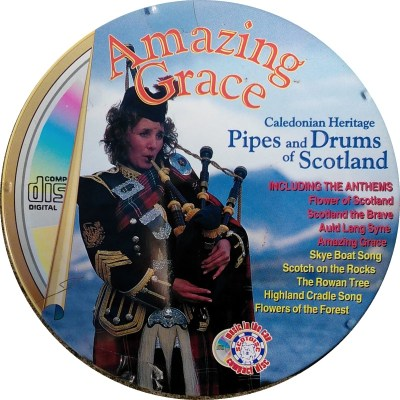 Amazing Grace Caledonian Heritage Pipes & Drums CD