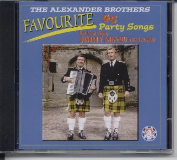 The Alexander Brothers Favourite 45 Part Songs CD