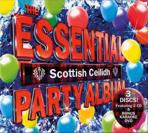 The Essential Scottish Ceilidh Party Album CD x3