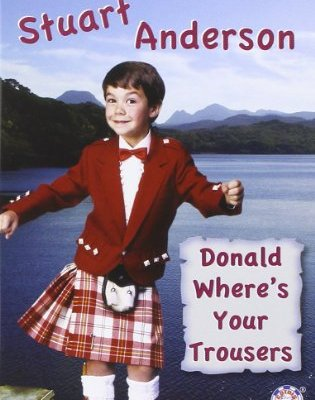 Stuart Anderson Donald Where's Your Trousers DVD