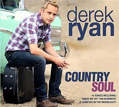 Derek Ryan Country Soul CD - Music City