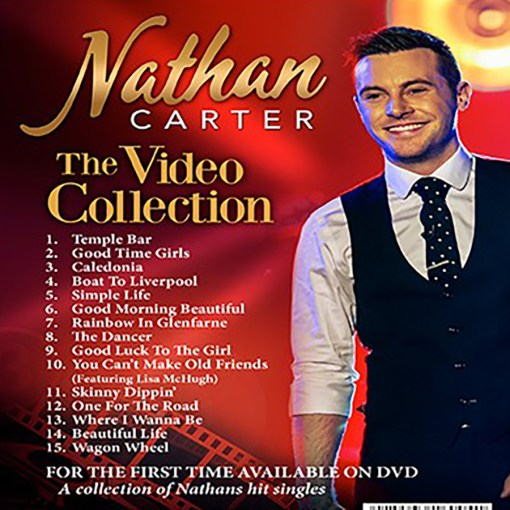 Nathan Carter The Video Collection DVD £13.98