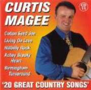 Curtis Magee 20 Great Country Songs CD