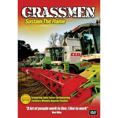 Grassmen Sustain The Flame DVD