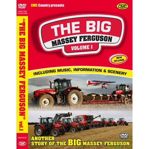 The Big Massey Ferguson VOL 1 DVD