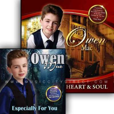 Heart & Soul CD By Owen Mac + Owen Mac Especially For You CD Double Pack