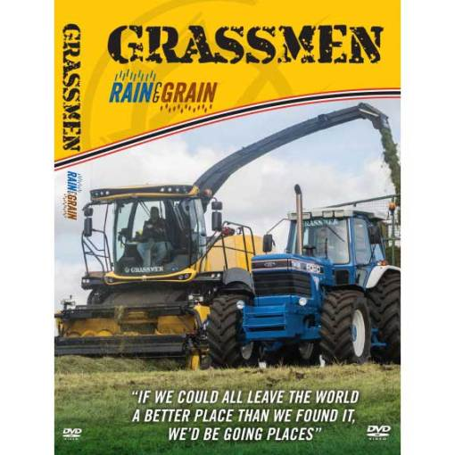 Grassmen Rain and Grain DVDs