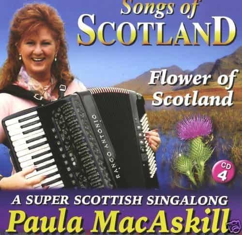 Paula MacAskill Flower Of Scotland CD