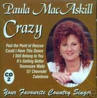 Paula MacAskill Crazy CD