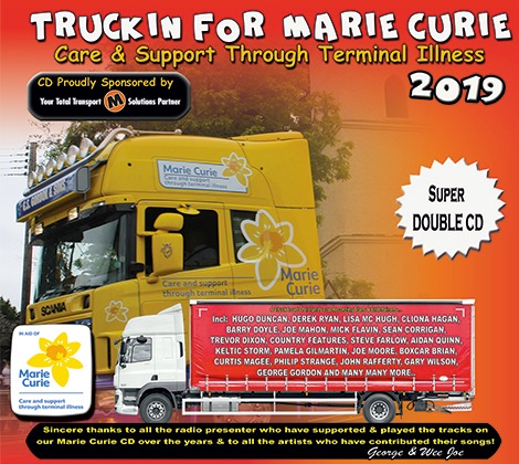 Truckin For Marie Curie Care & Support Through Terminal Illness 2019 CD