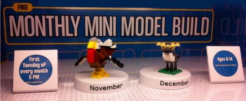 Lego Store Monthly Mini Model Build Nashville Fun Kids Free