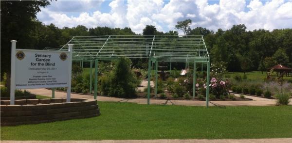 Sensory Garden for the Blind franklin tennessee